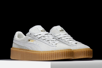 rihanna puma puma creepers white sneakers