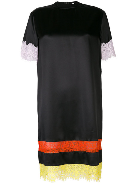 Givenchy dress embroidered dress embroidered women lace black silk