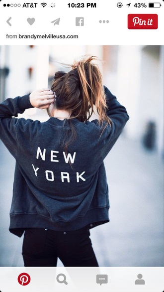 jacket navy new york city black black and white casual coat black jacket black hoodie grunge hipster tumblr jeans black jeans high waisted jeans white hoodie tumblr outfit tumblr girl tumblr clothes style brandy melville blue jacket blue pinterest new york jacket bomber jacket grey sweater new york dark classic classy girl fashion new york shirt grey jacket new-york york sweatshirt graphic tee dark blue blue sweater sweater