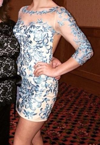 dress blue dress nude dress lace dress long sleeve dress cocktail dress