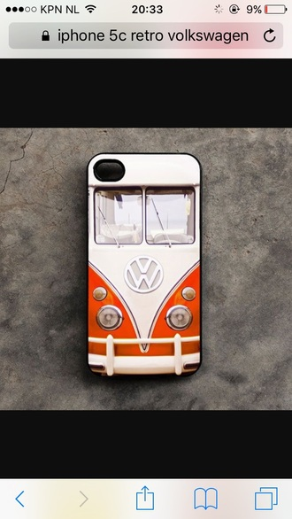 phone cover iphone 5c retro volkswagen