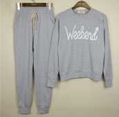 sweater,tracksuit,leisure,suit,relax,gym,grey,weekend,stroll,outfit,joggers,sweatshirt,top,pants,chillin