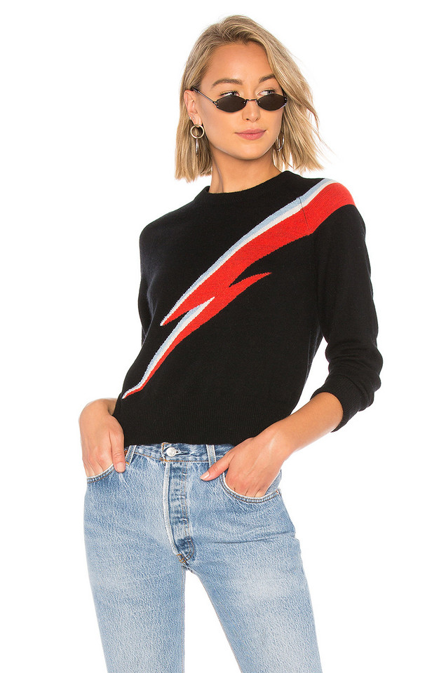 27 miles malibu Oddity Sweater in black