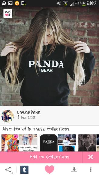 prada panda panda bear