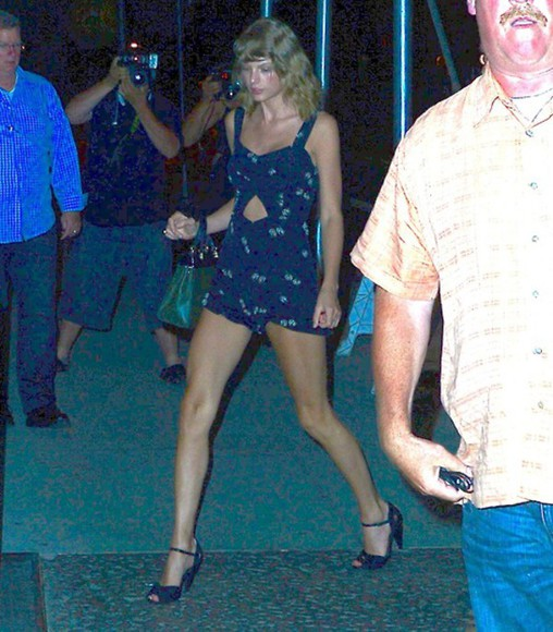 taylor swift shoes romper bag