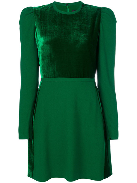 Elie Saab dress women silk green