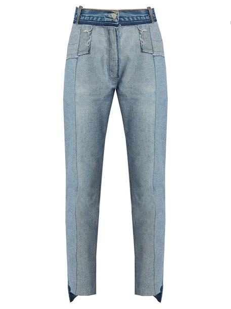 Vetements jeans skinny jeans denim