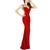 Beaded Wedding Formal Women Ball Gown Party Prom Dress Evening SZ 6 8 RED Black | eBay