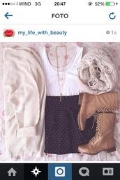 dress,skirt,shose,t-shirt,bag,sweater,tank top