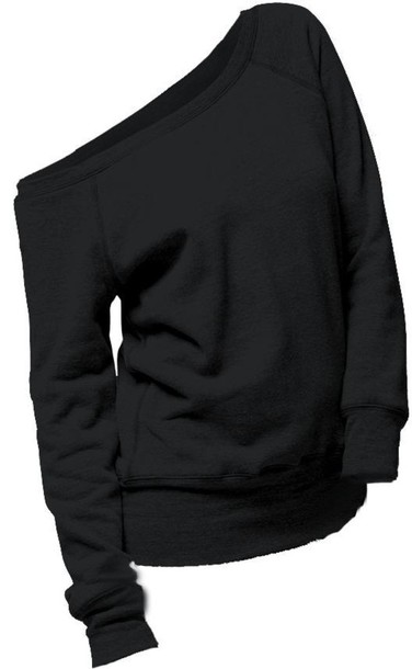 sweater black shirt comfy off the shoulder off the shoulder slouchy sweater off the shoulder sweater blouse cute cozy