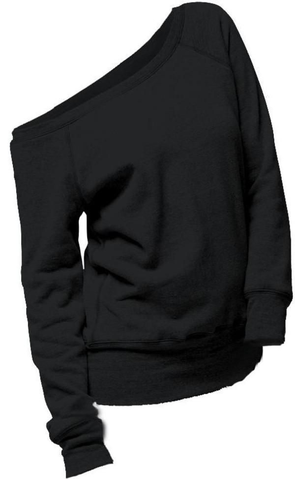 6237d00b2d9 sweater black shirt comfy off the shoulder clothes comfy sweatshirt off the  shoulder slouchy sweater off