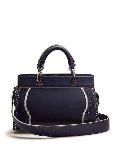 Altuzarra bag leather bag leather navy white
