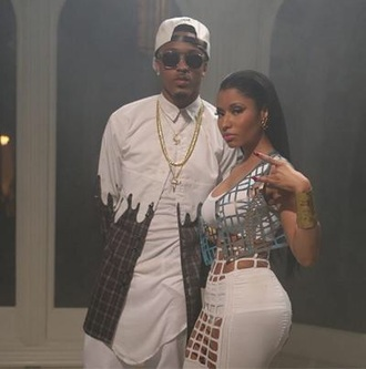dress nicki minaj skirt jewels