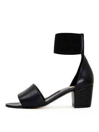 Lucy Ankle-Wrap Heel | American Apparel
