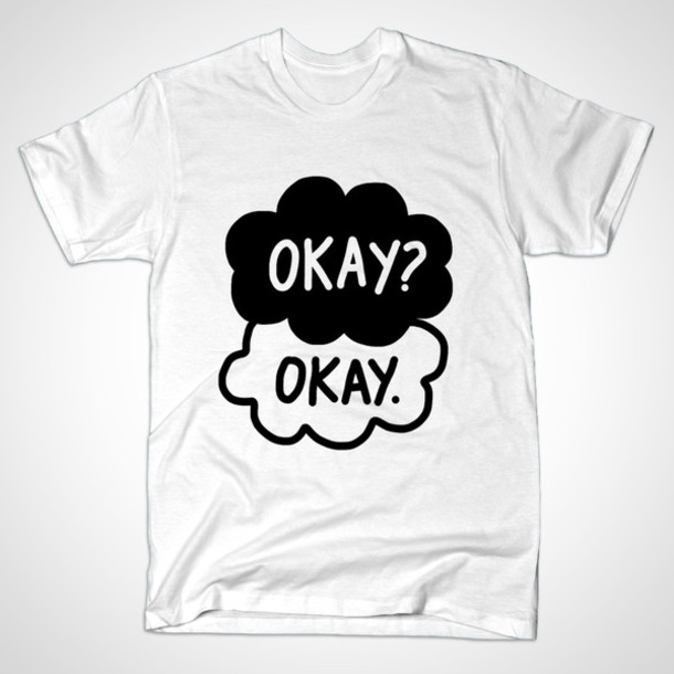shirt, the fault in ou...