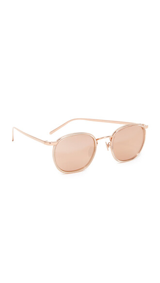 rose gold rose sunglasses mirrored sunglasses gold