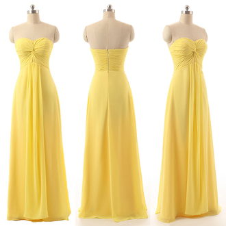 dress prom prom dress long long dress maxi maxi dress yellow yellow dress summer sweet sweetheart dress strapless dress strapless cute cute dress pretty love lovely amazing wow cool fabulous gorgeous beautiful floor length dress fashion style stylish fashionista sexy sexy dress trendy girly vogue bridesmaid special occasion dress