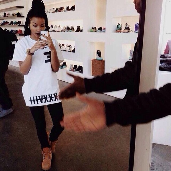 t-shirt white t-shirt white shirt shoes black writing white shirt xxx backwards e