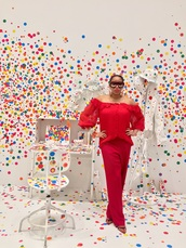sunglasses,red,dior,silk,fashion,luxury,paris,new york city,london,yayoi kusama,art,red sunglasses,dior sunglasses,washington dc,blogger
