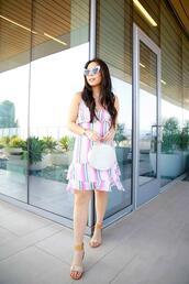 hautepinkpretty,blogger,dress,jewels,shoes,sunglasses