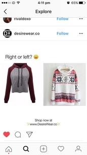 sweater,jumper,cute,warm,maron