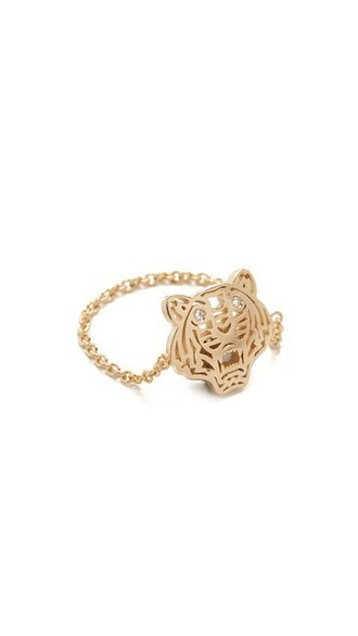 mini tiger ring gold jewels