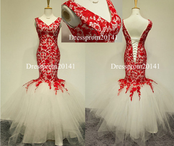 dress, red dress, lace dress, plus size dress, bridal gown, mermaid ...