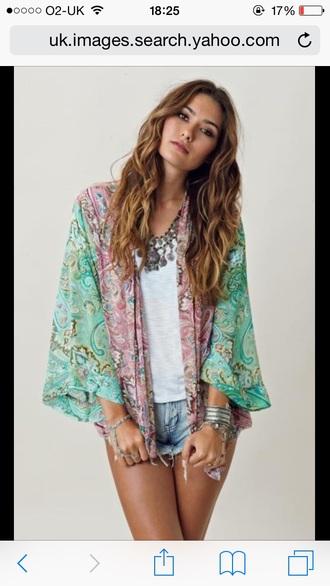 cardigan clothes gorgeous kimono hippie hippy hipster