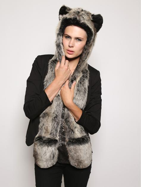 Grey wolf spirithood
