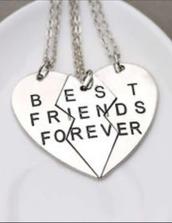 jewels,necklace,bestfriend necklace,bff,three