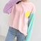 Pastel combo long sleeve shirt