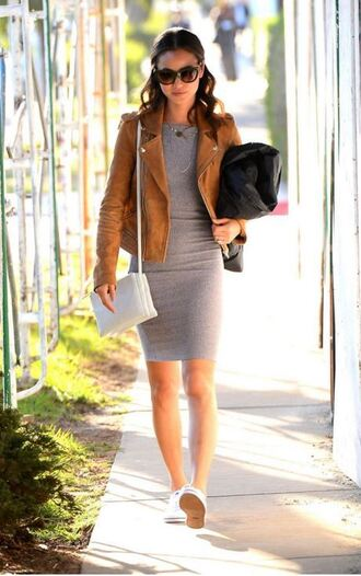 jacket dress bodycon dress jamie chung streetstyle spring outfits