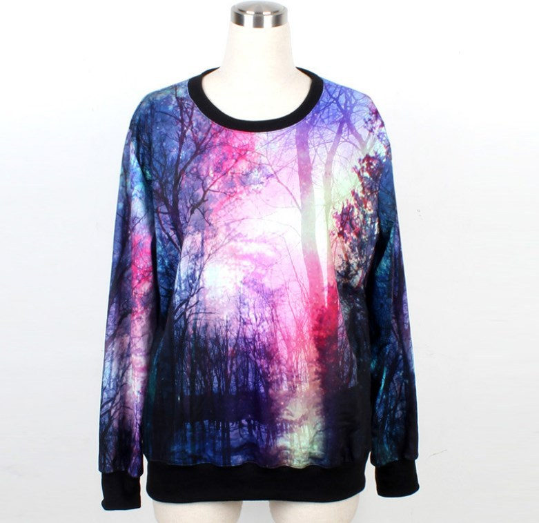 2014 harajuku 3D sweater sweatshirt Galaxy Stars sport suit men women pullovers and sweaters women hoody tracksuits coat hoodies-in Hoodies & Sweatshirts from Apparel & Accessories on Aliexpress.com | Alibaba Group
