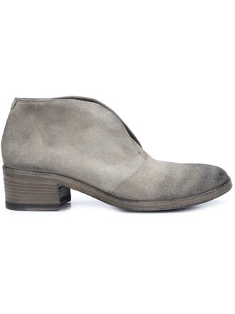booties grey shoes