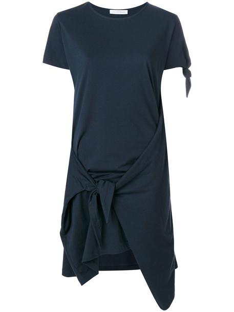 J.W.Anderson dress women cotton blue