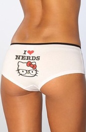 underwear,hello kitty