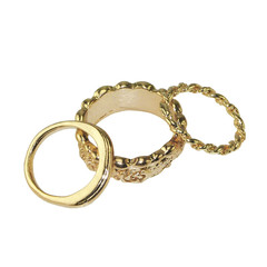 GOLD MIDI RING SET – HolyPink