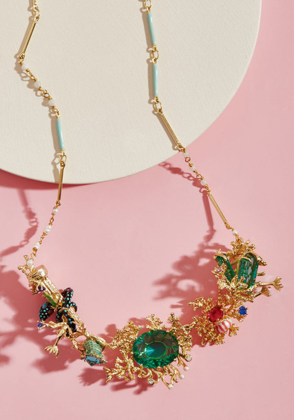 Les Nereides statement necklace statement necklace jewels