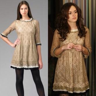 dress gossip girl blair waldorf lace dress