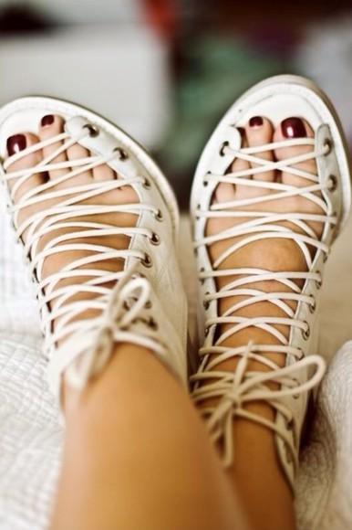 shoes boots lace up cute lace boots hippie hippie shoes