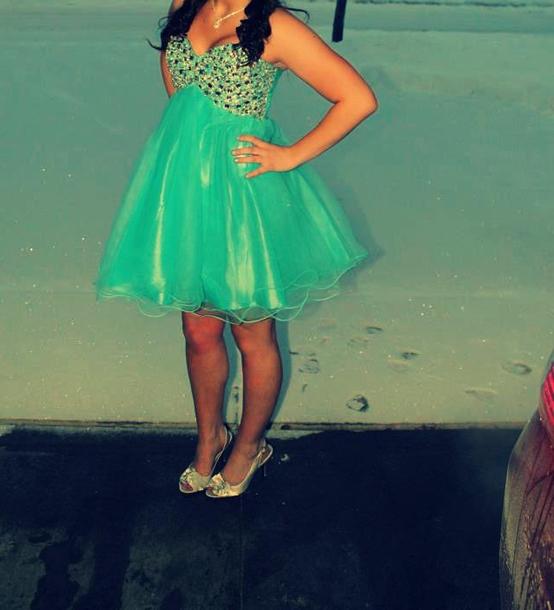 dress blue blue dress teal homecoming dress prom dress short dress tulle dress tulle skirt