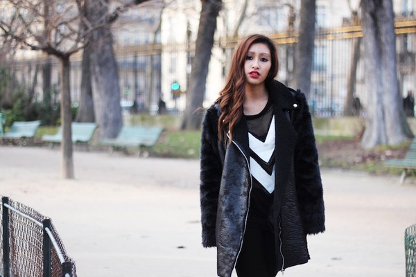 rosapels blog jacket coat sweater shoes pants