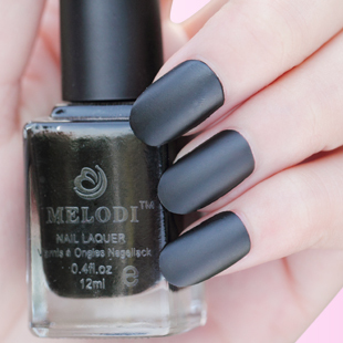 Free shipping Melodi scrub matt eternal classic black eco friendly quick dry nail polish oil 08-inNail Polish from Beauty & Health on Aliexpress.com