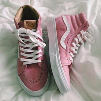 shoes vans sneakers style pink beautiful cute pretty