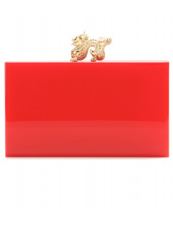 mytheresa.com - Dragon Pandora box clutch - Clutch bags - Bags - Luxury Fashion for Women / Designer clothing, shoes, bags