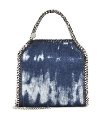 denim bag shoulder bag blue