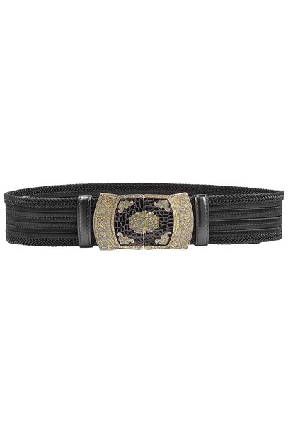 Etro Woven Belt  in black