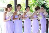 dress,purple dress,strapless dress,bridesmaid