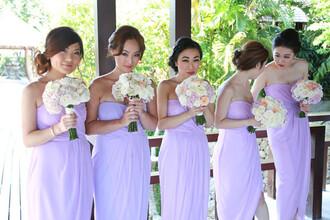 dress purple dress strapless dresses bridesmaid bridesmaids bridesmaids dress