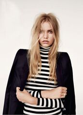 cooperative by urban outfitters,turtleneck,stripes,striped top,striped sweater